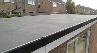 Garage Roof with epdm